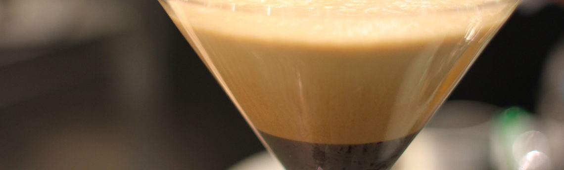 Ricetta del caffè shakerato. Ottimo d'estate