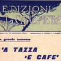 Canzoni napoletane con caffè spartito