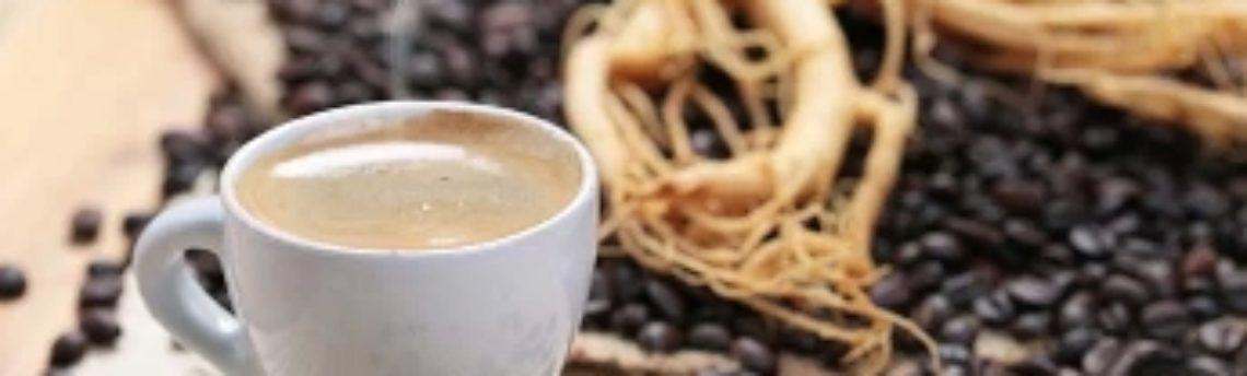 Caffè al ginseng, unione energizzante