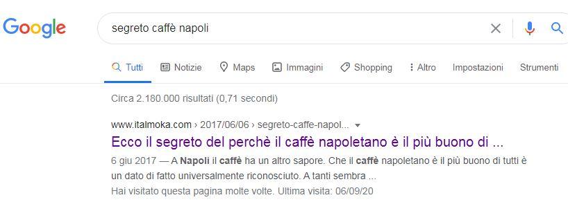 caffe segreto
