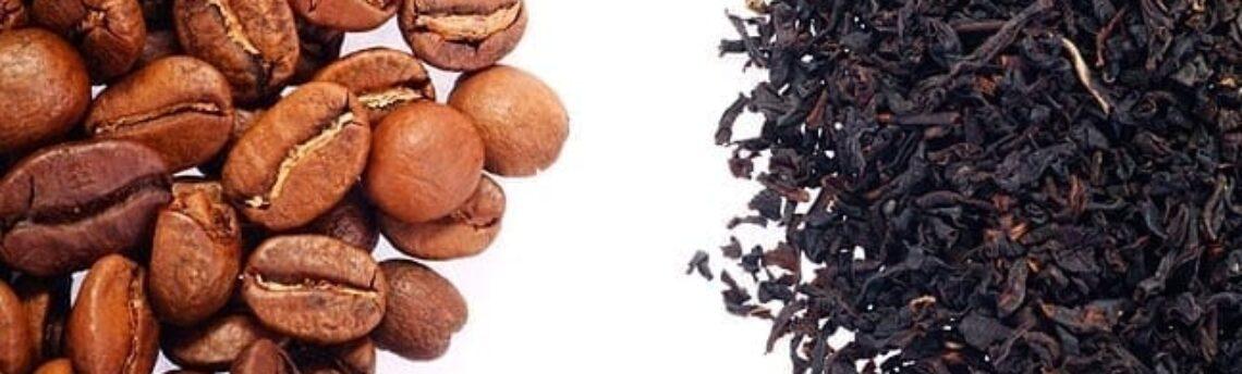 Caffè e tè altri punti in comune e proprietà